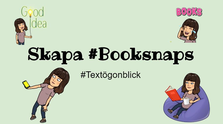 Skapa #Booksnaps