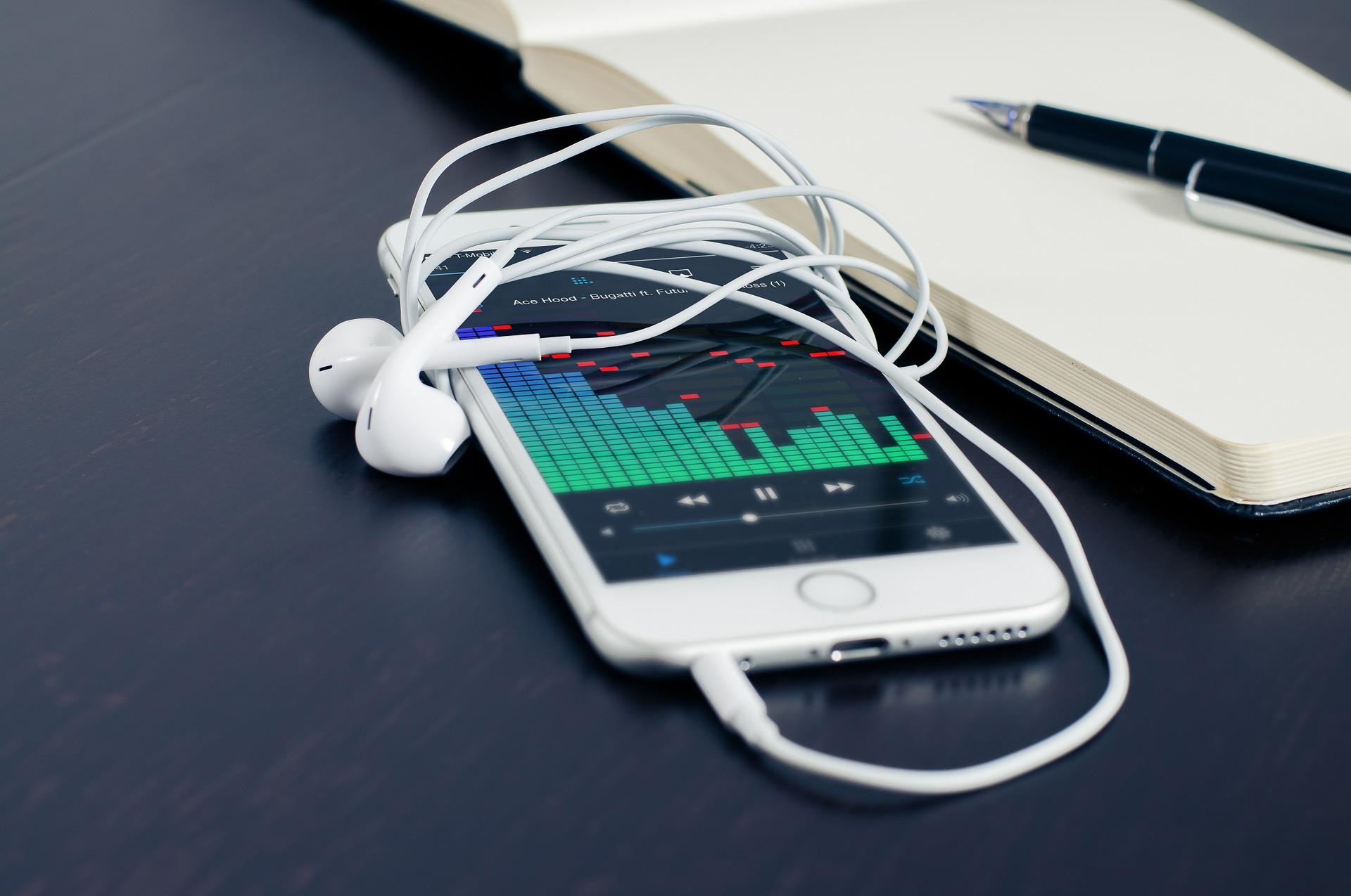 Musik från mobiltelefon